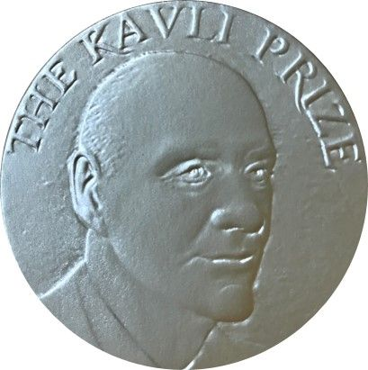 Front side of the Kavli Prize