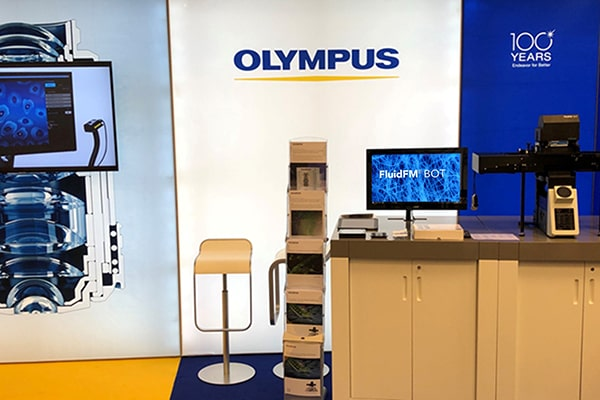 Olympus & Cytosurge Conference Booth