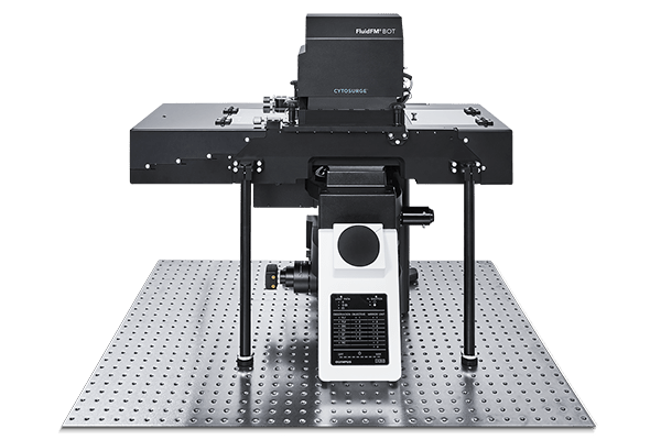 FluidFM BOT BIO Series with a fully integrated Olympus IX83 microscope
