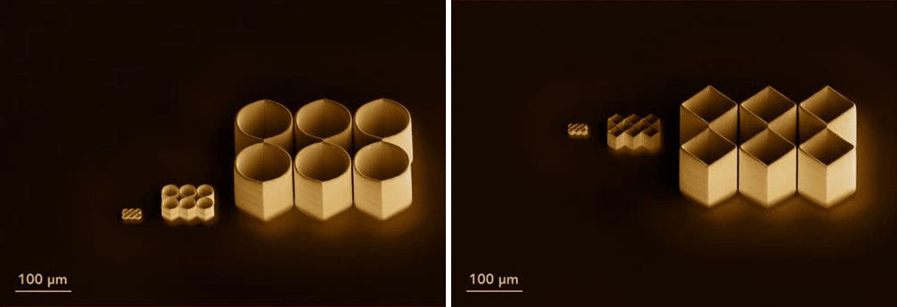 Electron microscope images of the impossible objects