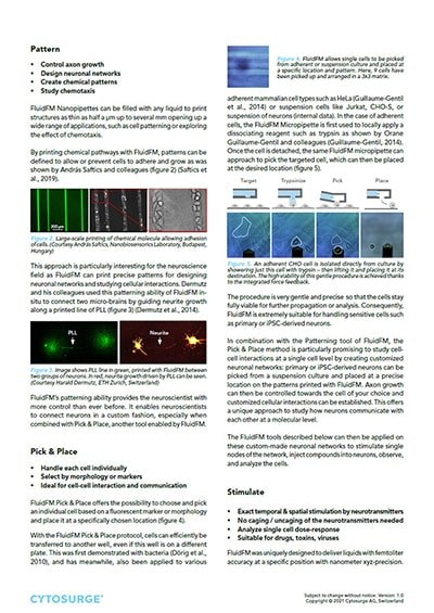 FluidFM Neuroscience - Application Note preview 2
